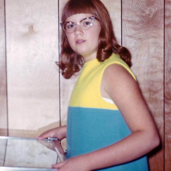 Aileen around twelve.