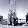 An old brownie camera shot of my family at Persepolis Iran 1966.
