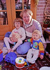 Me with Helen and Jacob on Christmas morning in Glenburnie Ontario.