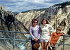 My mother, sister and brother Yellowstone National Park 1973.
