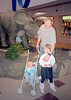 Me Helen and Jacob at the Museum of the Rockies in Bozeman Montana.  Eighteen years have passed since this picture was taken.  Helen has just graduated from University and Jacob will soon be graduating from High School.  It doesn't seem that long ago that they were little kids.  In in a few more years I hope to recompose this shot with grandchildren.