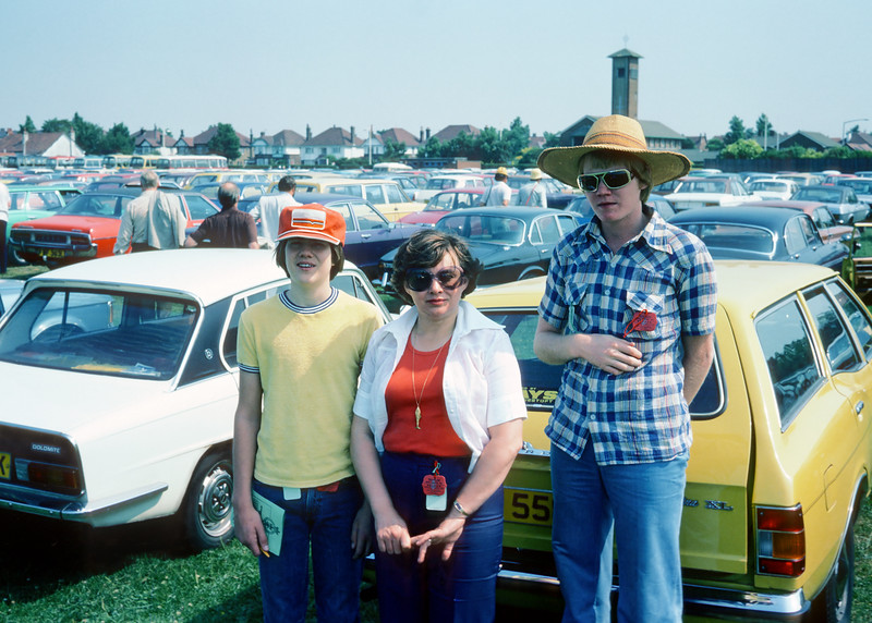 Here I am in my big Ghanaian straw hat and gold rimmed shades with my mother Evelyn and my brother Steve somewhere in Denmark in the summer of 1976. Isn't it interesting how cool you are is inversely proportional to how cool you think you are?