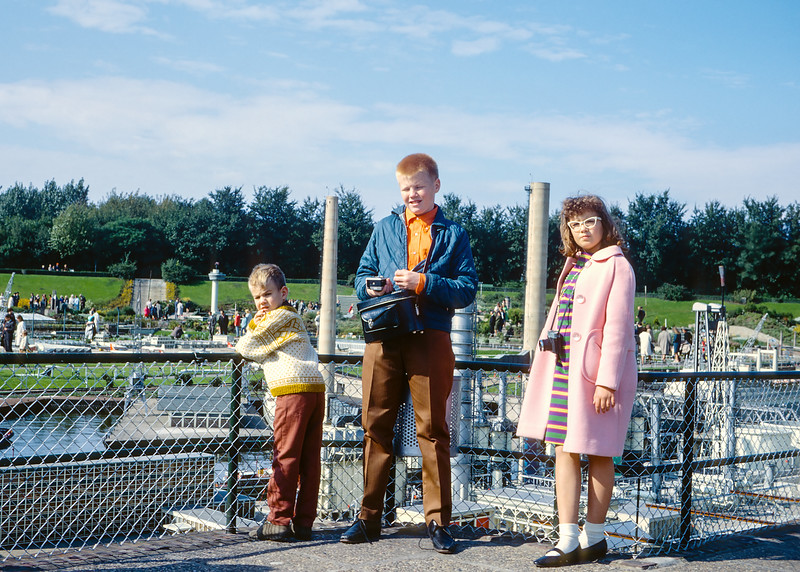 Me with my brother Steve and my sister Aileen in Legoland Denmark. This picture was taken in 1968 and was probably one of our last trips through Europe before moving to Canada the following year.