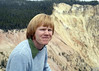 Me sitting in front of the Yellowstone Canyon in the summer of 1980.