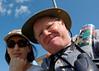 Mali and me at the at the Fort Wayne ballpark.