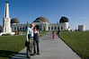 Me and Mali at the Griffith observatory.