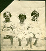 My maternal grandmother is the child in the middle.