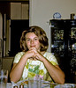 Evelyn at Frank and Helen senior's in  Livingston. Taken during the summer of 1967. From one of my old Instamatic slides.