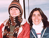 Mali and her friend Mahboubeh in 1982. They are on a lift in the Dizin ski area just north of Tehran. We last saw Mahboubeh in Toronto more than a decade ago.