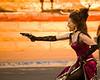Dancehall girls can shoot.