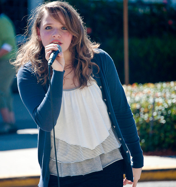 """Kayleigh Campo is going to be a star. She is 16 years old in 2011 and has just won a first round event in the """"American Idol"""" competitions. If Linda Ronstadt were not still alive, I would swear Ms Campo was her re-incarnation. Astonishing range of musical ability; follow her at  <a href=""""http://www.kayleighcampo.com"""">http://www.kayleighcampo.com</a>.<br /> <br /> We encountered her at a street fair in Naples, FL and sat down in adjacent cafe for lunch just because of her. Well, also because the cafe was a Bice."""