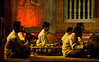 Traditional Khmer musicians, Raffles Hotel, Siem Reap, Cambodia