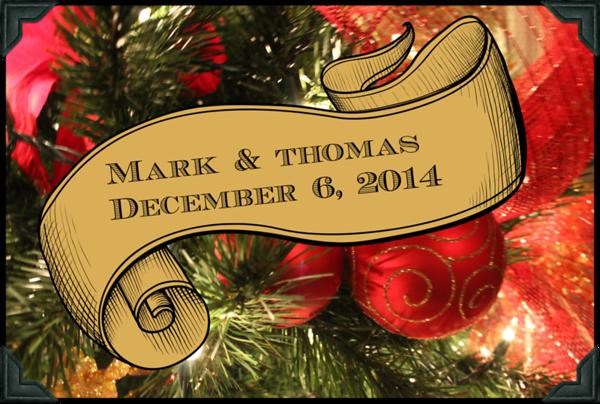 Thomas & Mark