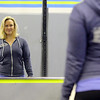 Tiffany Normandin, of Leominster, coaches at the CrossFit studio on Crawford Street in Leominster. She did the Whole 30 and as a result has changed her entire life around and has cut out sugar and carbs. She instructs a class on Wednesday afternoon at the studio. SENTINEL & ENTERPRISE/JOHN LOVE