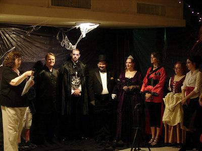Tiffany and John's Halloween-Themed Wedding Rehearsal
