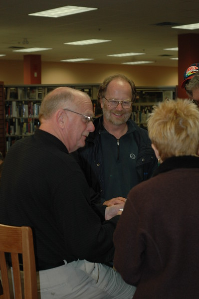 2006, November 7, Tim Miller,  NASCAR Now and VROOM, Book Signing, Caledonia Library