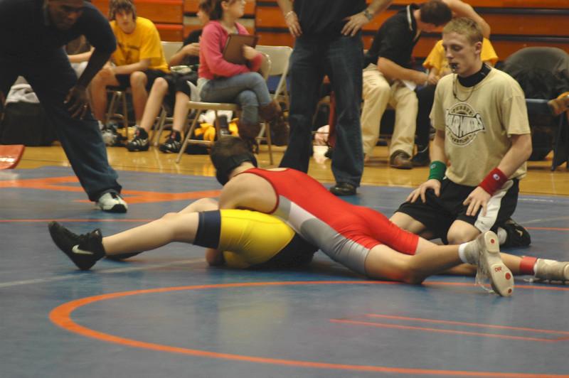 Wrestling<br /> January 17, 2008<br /> Ref Vlahos