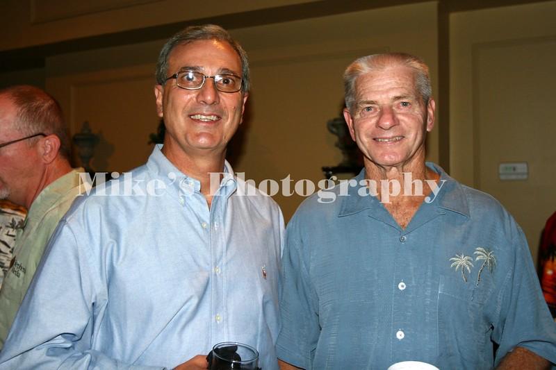 Freddie Black and Coach Norm DeBriyne (U of A Baseball 72-02)