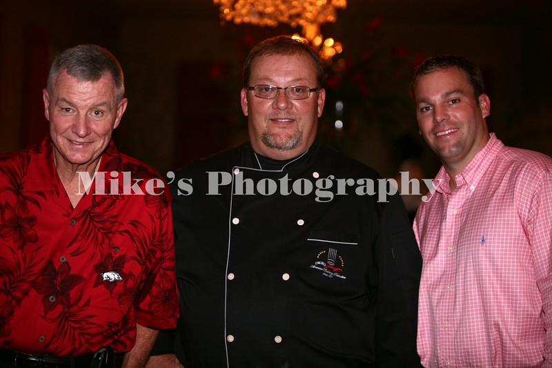 Tommy May, Chef Jamie McAfee, Chad May