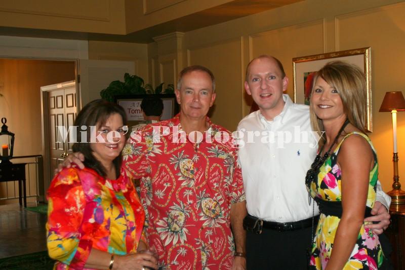 Giner and Marty Casteel, Martha and Catrina Van Genderen