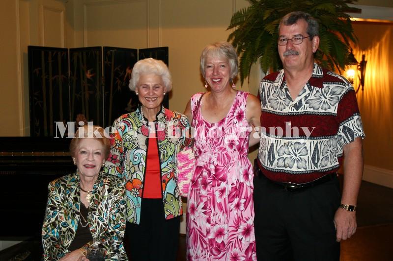 Jo Brown, Diane Ayres, Jane Burrow, Pat Burrow