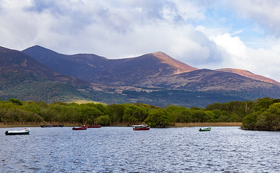 The Lakes of Killarney looking toward Killarney National Park