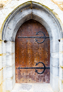 Doorway, Ross Castle, Killarney, Ireland