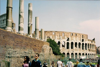 The Colliseum Rome, Italy