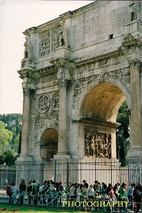 the Arch of Titus Rome, Italy