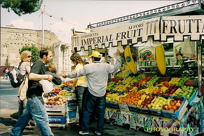 Fruit Stand Rome, Italy