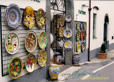 Ceramic Shop Ravello, Italy