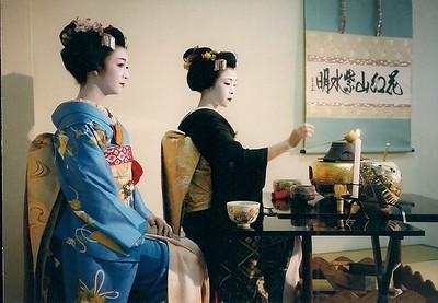 tea ceremony Kyoto, Japan