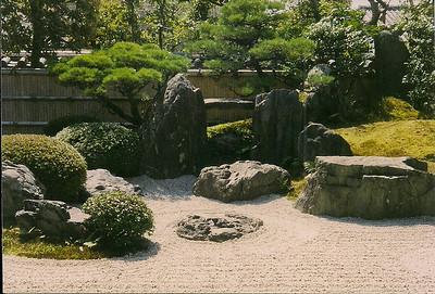 zen garden Kyoto, Japan