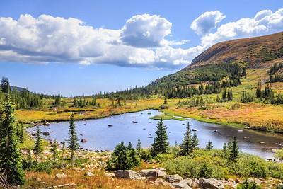 Indian Peaks Wilderness in Fall