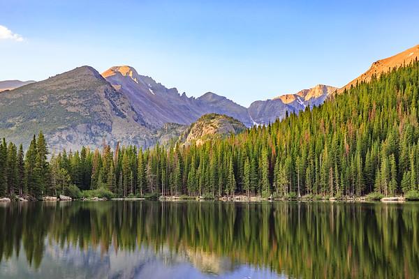 First Light of Morning at Bear Lake