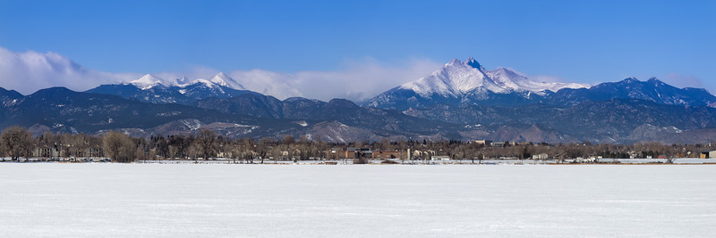 Panoramic View of Longmont, Colorado