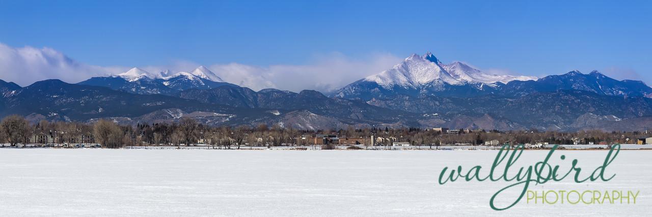 Panoramic View of Longmont, Colorado