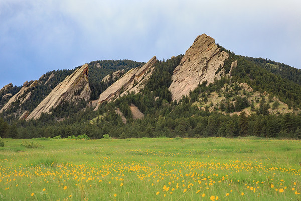 The Flat Irons in Spring