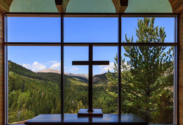 Chapel in the Mountains - Interior View