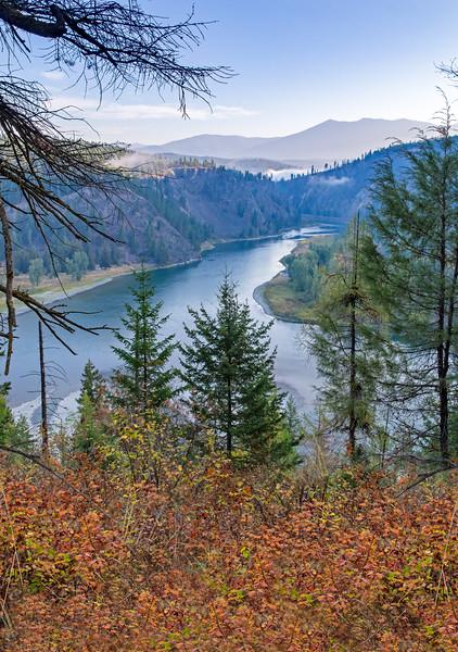 Moyie River in Autumn