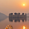 Lake palace at sunrise, Jaipur