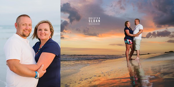 Sunset Portraits at Treasure Island Beach Florida