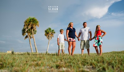 Family Portraits at Treasure Island Beach Florida