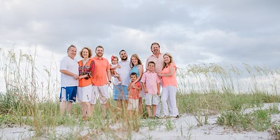 Treasure Island Beach Florida Family Kids Portraits by Kristen Sloan Photography