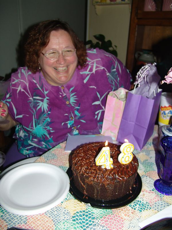 Donna was 48.