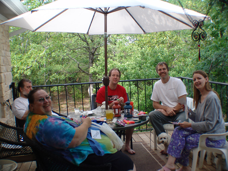 Spring 2006: The Croquini Crew at Sage Creek Ranch