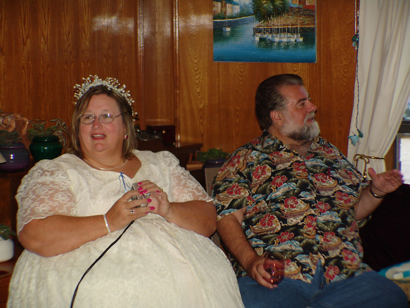 "Spring 2006:  Wedding Shower:  Donna and Scott (Scott's costume is ""Serf"")"