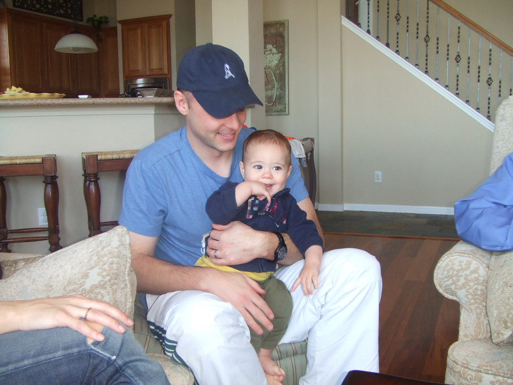 Daddy and Nicky -  28Mar09