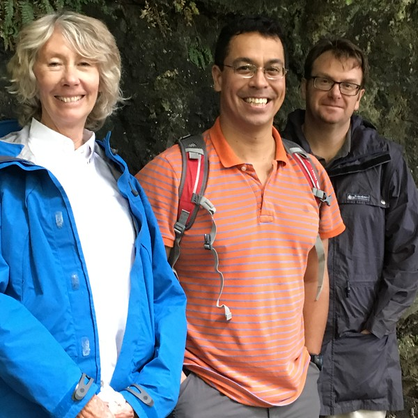 Virginia, Glenn and Chris