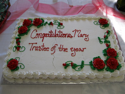 Mary Farwell's NH Trustee of the Year Award Party